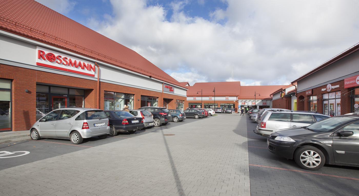 Park Handlowy, ul. Kopernika (Biedronka, PEPCO, Martes Sport)