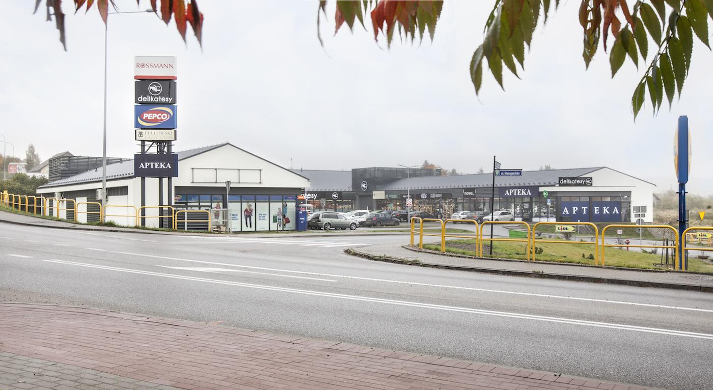 Budynek usługowo-handlowy (PEPCO, ROSSMAN), ul. Kmdr Kraszewskiego