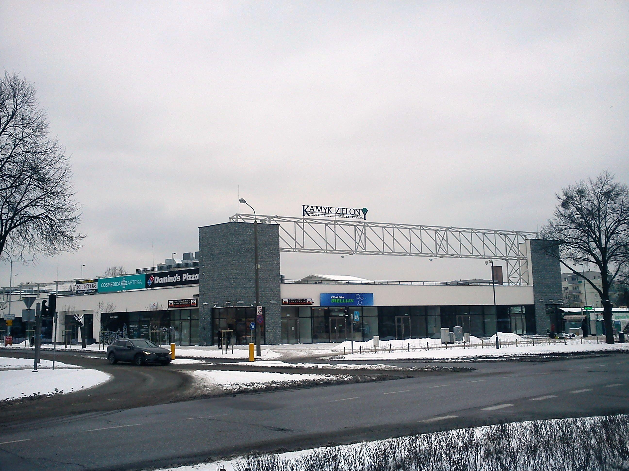 Centrum Handlowe Kamyk Zielony, ul. Czerwony Dwór