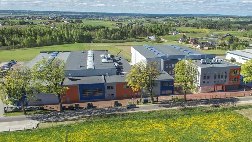 Zakład produkcyjny Rockfin Sp.z o.o. , budynek biurowy i hala produkcyjna