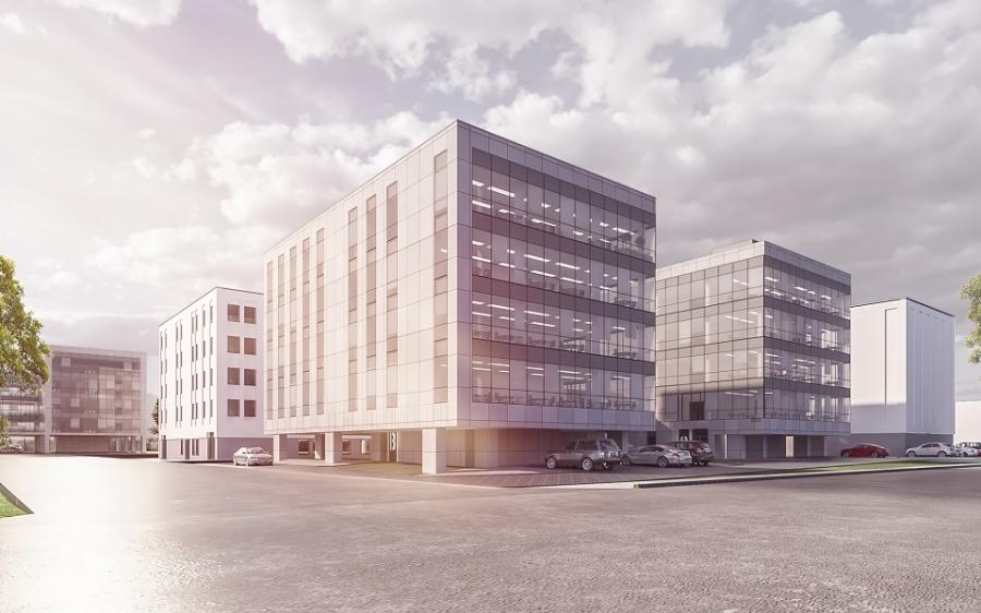 Budynek biurowy, ul. Zapadła